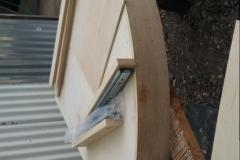 Circular Corner Desk Construction (3)