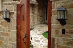Cedar Door-Open