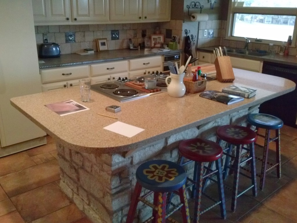 Kitchen remodel by Specialty Millworks By J.