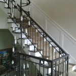 Staircase Knule designed by Specialty Millworks by J.