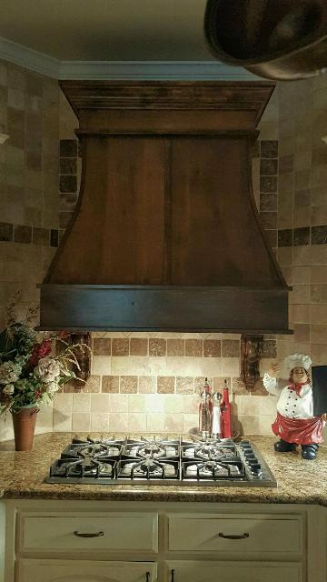 Handcrafted Ornate Vent Hood