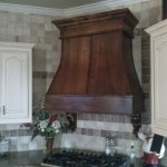 Millwork Handcrafted Ornate Vent Hood