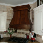 Millwork Handcrafted Ornate Vent Hood 2